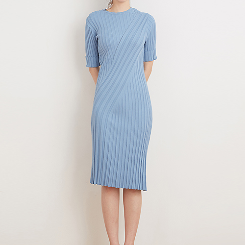 Lart knit dress