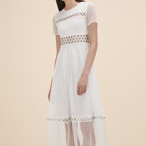 40%SALE/ MJ LONG EMBROIDERED DRESS