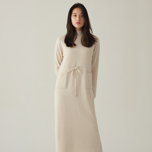 H. robe knit dress