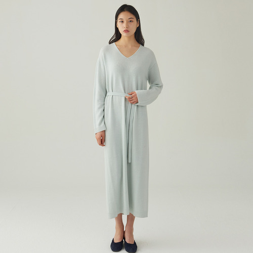 BONNIE WHOLEGAMENT KNIT DRESS