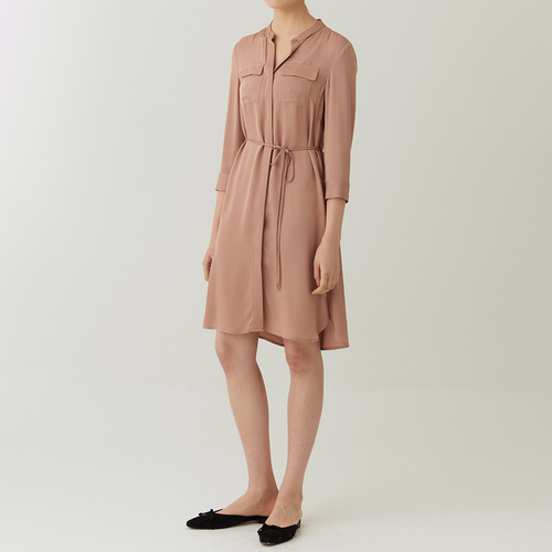 SILK 100% POCKET DRESS