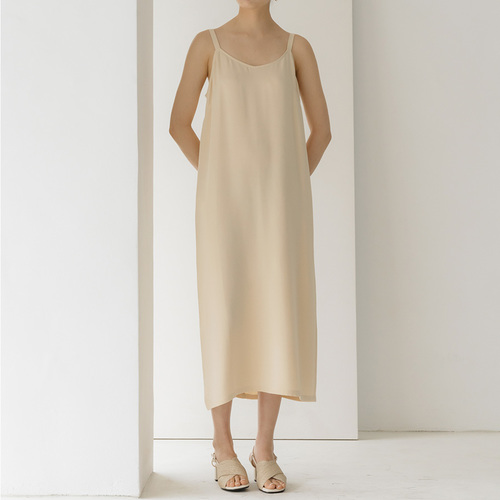 SILK 100 SLIP DRESS