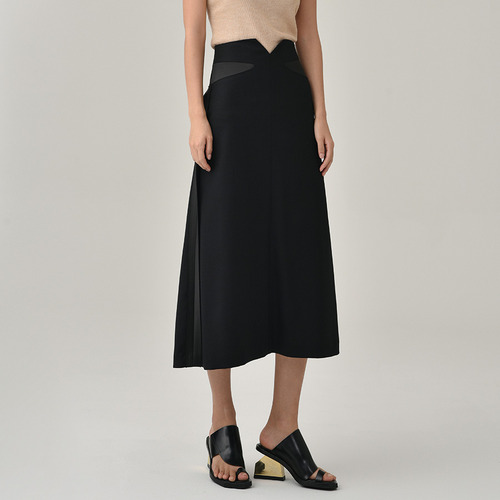 2차리오더중 /MAISON HIGH-WAISTED LING SKIRTS