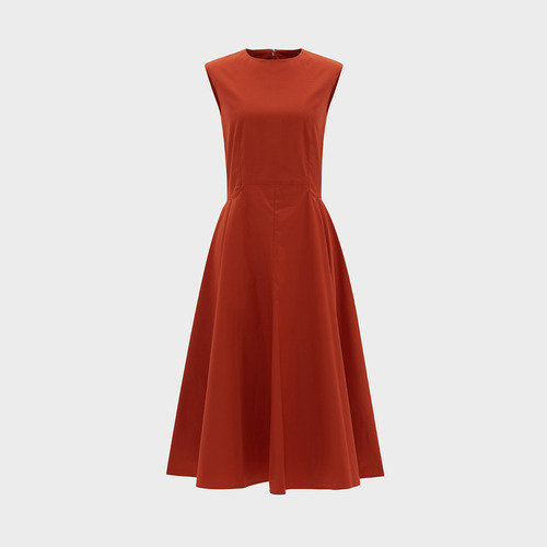 20%SALE/ H.cotton flare dress
