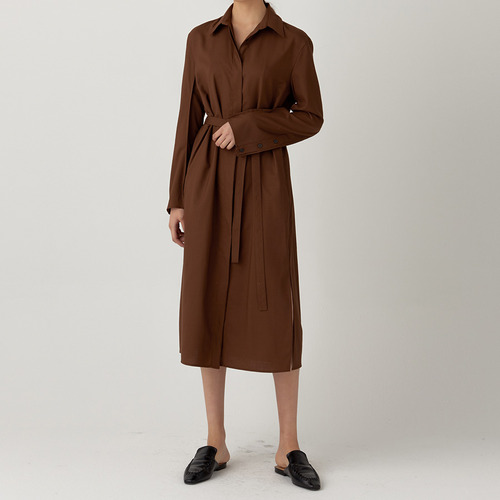 EDGE WOOL CLASSIC DRESS