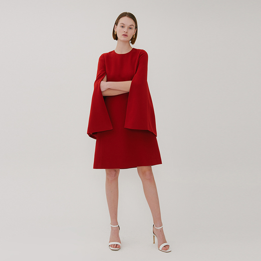 BE GORGEOUS CAPE DRESS