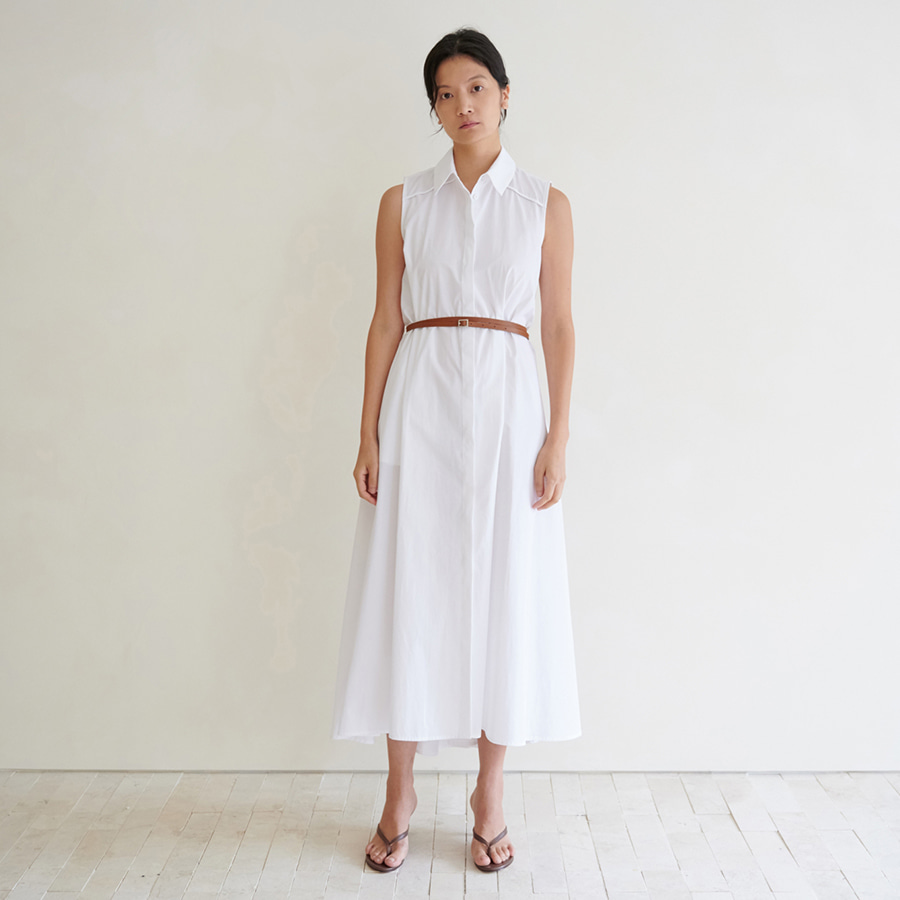 Sienna cotton belted dress