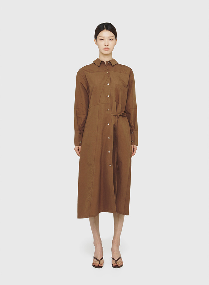Clarissa shirt dress