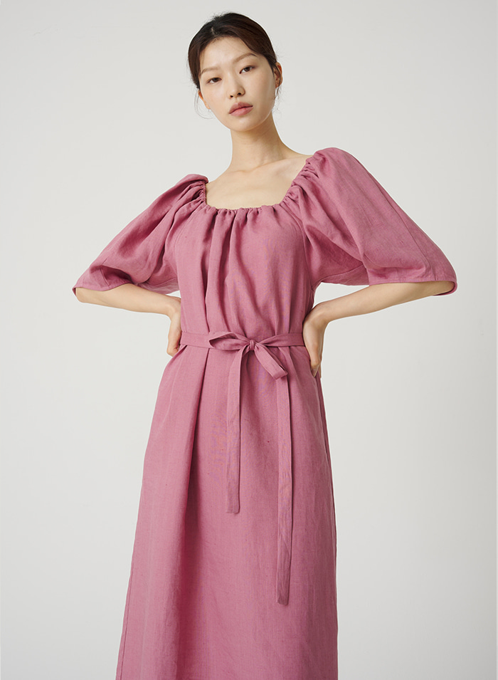 Clawsome linen dress