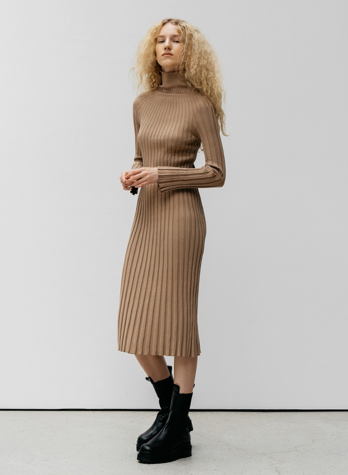 Caterina ribbed dress
