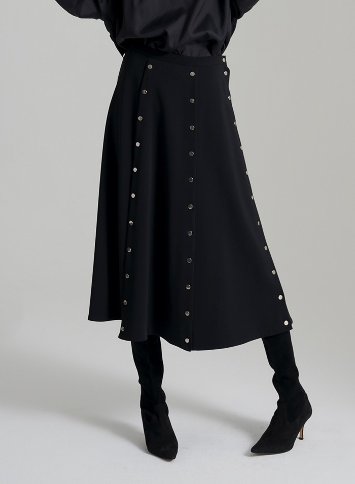 Elliott dots skirt