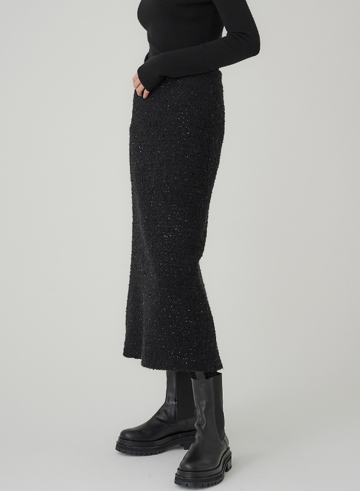 Metty Tweed Skirt