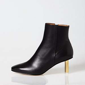 SLIM GOLD ANKLE BOOTIE