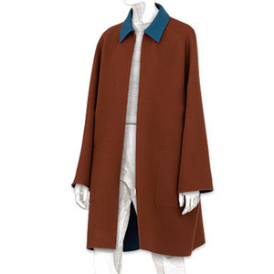 H. reversible cashmere coat