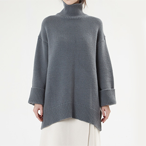 B.must cashmere wool blend turtle-neck