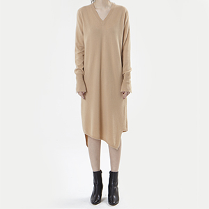 [ SUPER CASHMERE ]cashmere long dress