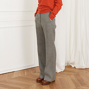 Pelt-wool slacks