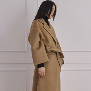 Loe- wool oversized coat