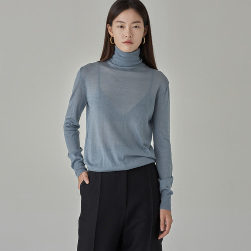 ESSEN WOOL TURTLE KNIT