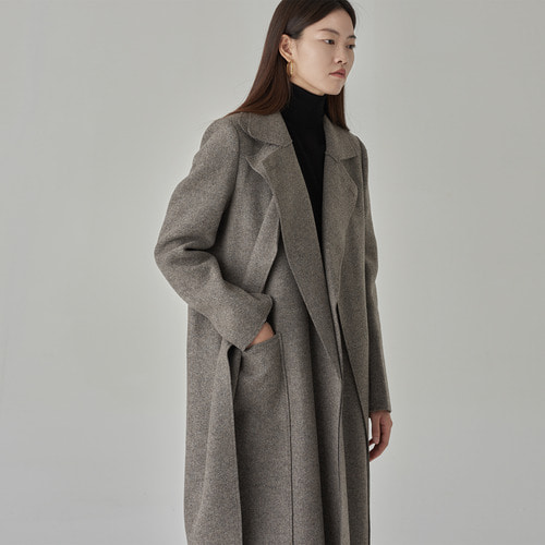 Masion long layered coat