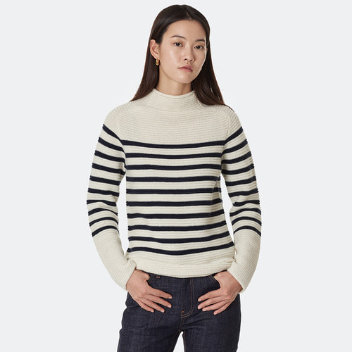 CLEAN STRIPE KNIT