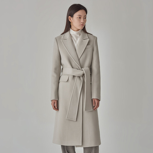 [40%SALE]TOM- STITCH CASHMERE COAT