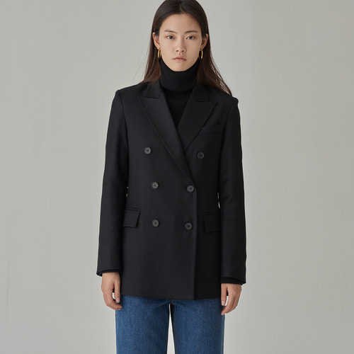 [ 40%SALE ] REDI WOOL 100 DOUBLE JACKET