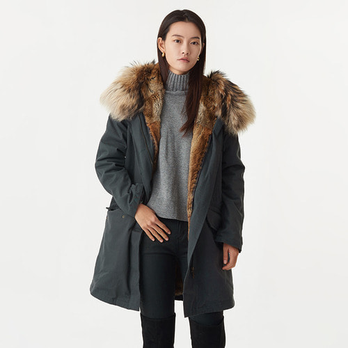 ASMY FUR PARKA NATURAL