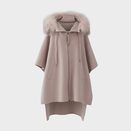 CASHMERE FOX CAPE