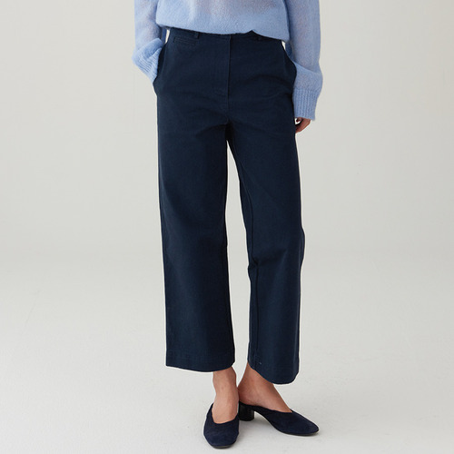 CNG BASIC STRAIGHT CROP PANTS