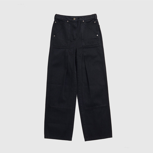 LARGE TROUSERS IN DENIM