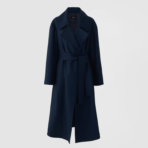 [40%SALE] DEEP LOW WOOL TRENCH COAT