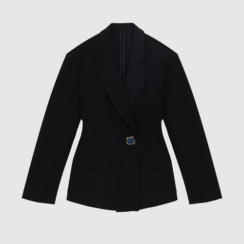 Cel . JACKET WITH JEWEL BUTTON