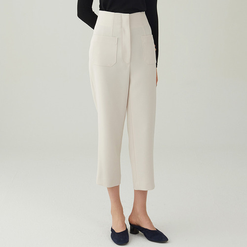 POCKET SLIM BAGGY TROUSER