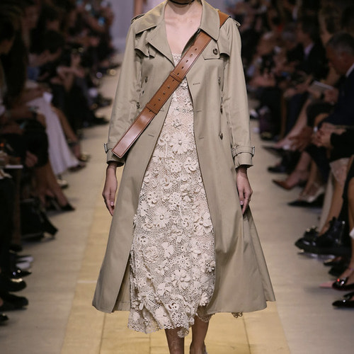 Di- collection Stitch shirring trench
