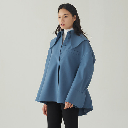 Big collar oversized jacket
