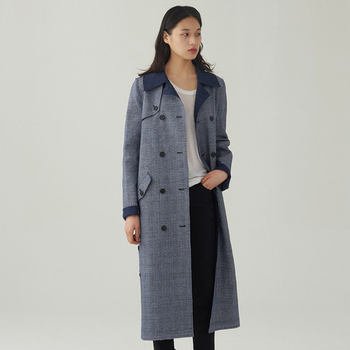 hearst reversible trench coat