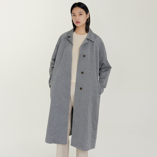 30%SALE/ HERRINGBONE OVE TRENCH  CT