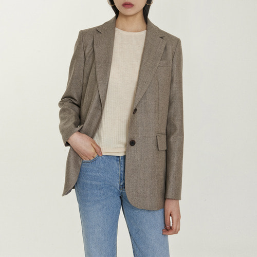 VETICA SINGLE WOOL JACKET