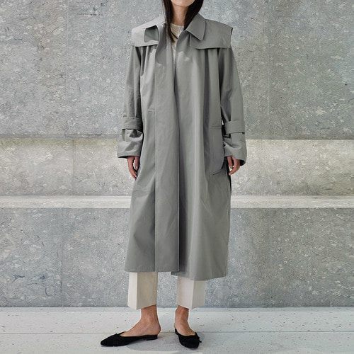 Sailor minimal trench coat