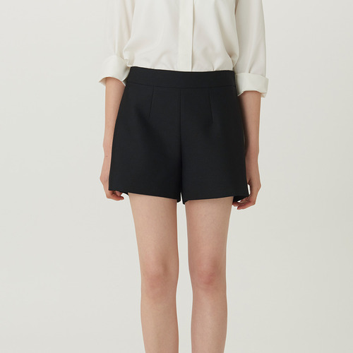 D.WOOL SILK SHORTS