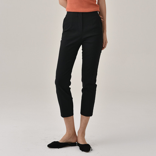 thanks high waist cotton trouser