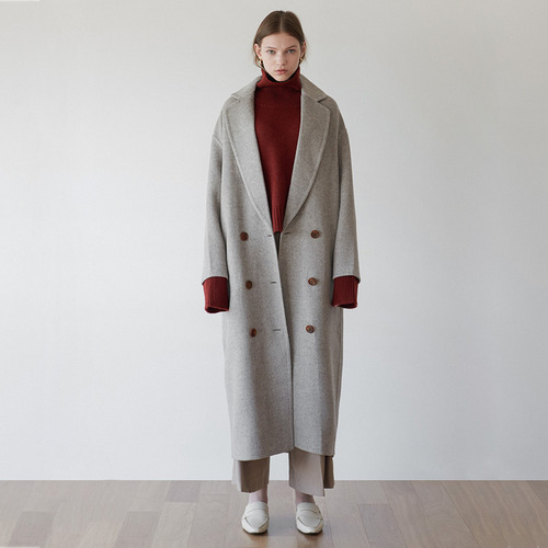 33% SALE / Low button hd coat