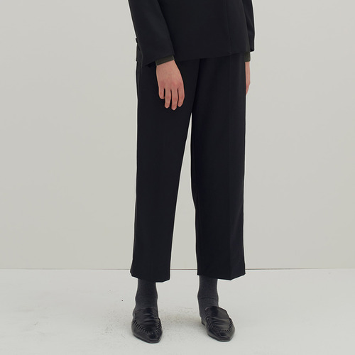 Collection wool tape trouser