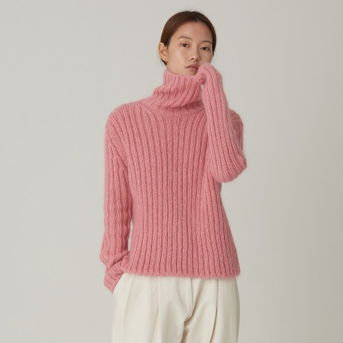 Mohair turtle Knit