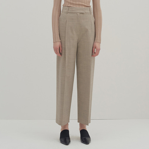 Paris tuck trouser