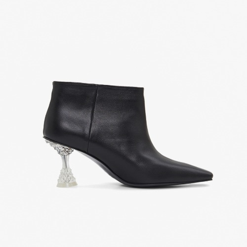 Phoebe crystal ankle boots