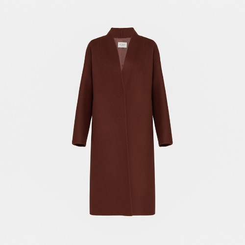 20%SALE / Wool cashmere handmade open coat