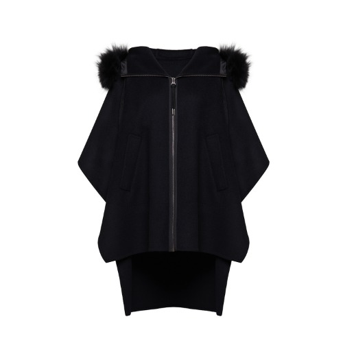 18 CASHMERE FOX CAPE