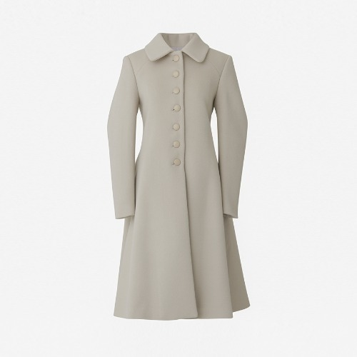 AA button cashwool coat